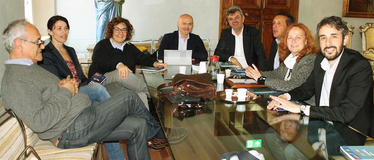 L'eurodeputato Damiano Zoffoli in Bassa Romagna