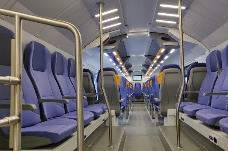 L'interno di un treno Rock